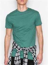 Topman Green Longline Muscle Fit T-Shirt T-paidat ja topit Mid Blue