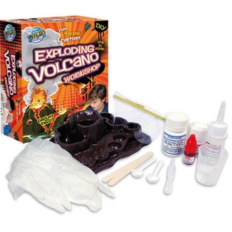 Tutkimuslaatikko, Tee tulivuori!