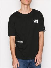 Jack & Jones Jcotheo Tee Ss Crew Neck T-paidat ja topit Musta