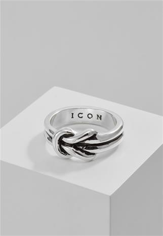 Icon Brand KNOTT NOW Sormus silvercoloured