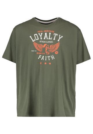 LOYALTY & FAITH B&T WINGS Printtipaita khaki