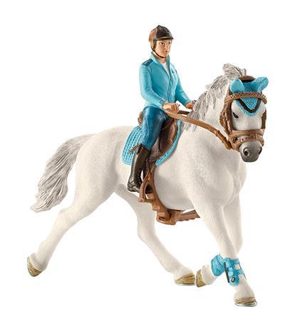 Schleich Horses Club 42111, turnajaisratsastajatar ja hevonen