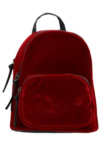New Look CHUNKY ZIP MINI Reppu bright red