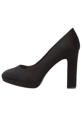 New Look Wide Fit WIDE FIT SUPPER Korolliset avokkaat black