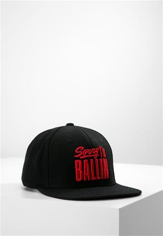 K1X SORRY IM BALLIN SNAPBACK CAP Lippalakki black