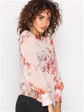 New Look Floral Print Blouse Arkipaidat Pink