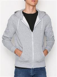 New Look Basic Zip Thru Puserot Grey