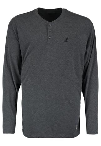 Kangol Pitkähihainen paita charcoal marl