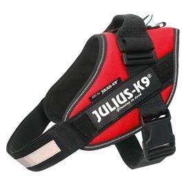 Julius-K9 IDC® Power -koiranvaljaat, punainen - rinnanympärys 82 - 115 cm (3-koko)