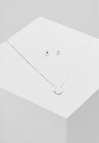 Pilgrim XMAS SET NRO. 3 Korvakorut silver coloured