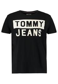 Tommy Jeans Printtipaita black