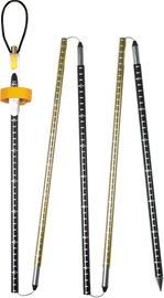 Pieps Probe Aluminium Lumivyörysondi 220cm , musta/kulta