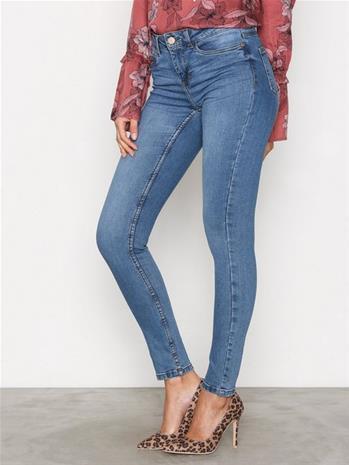 Noisy May Nmlucy S.S. Nw VI878 Jeans Noos Housut Sininen