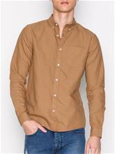 River Island Ls Oxford Shirt Kauluspaidat Hiekka