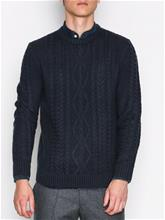 Jack & Jones Jorbim Knit Crew Neck Puserot Sininen