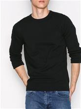 Selected Homme Shddamian Camp Crew Neck Puserot Musta