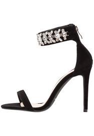 BEBO VALOUR Korolliset sandaalit black