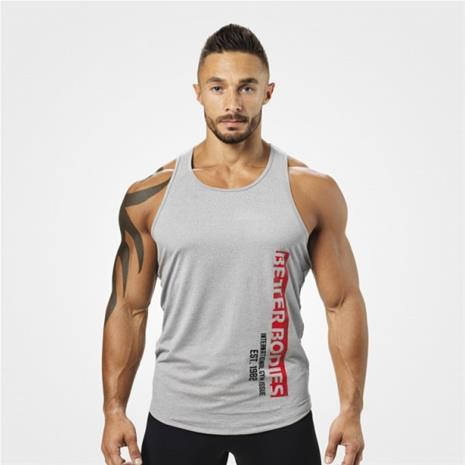 Better Bodies Performance T-back, harmaa