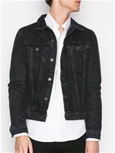 New Look Basic Denim Jacket Takit Black