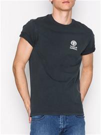 Franklin & Marshall T-Shirt Jersey R Neck T-paidat ja topit Black