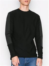 Jack & Jones Jcopage Knit Crew Neck Puserot Musta