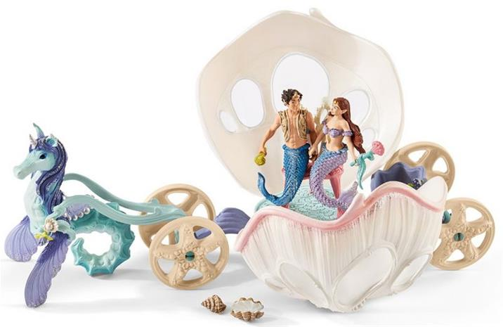 Schleich - Bayala - Royal Seashell Carriage (41460)