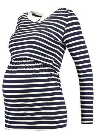 Envie de Fraise CLOTHILDE Pitkähihainen paita navy blue/off white