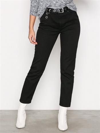 Dr Denim Pepper Straight Black