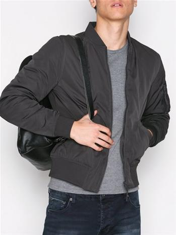 New Look New MA1 Bomber Takit Charcoal