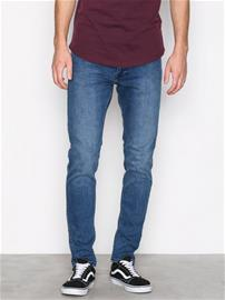 Dr Denim Clark Worn Ash Blue Farkut Deniminsininen