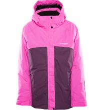 Everest J MFN ALP SKI JKT PINK/WINE RED