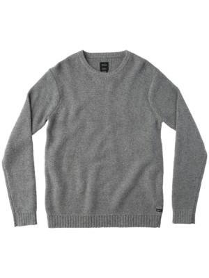 RVCA Seasons Pullover grey noise Miehet