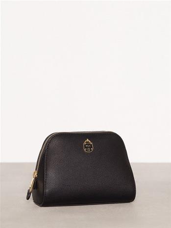 Lauren Ralph Lauren Dome Cosmeti Cosmetic Bag Toilettilaukut Black