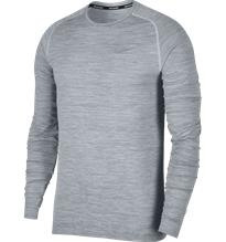 Nike M NK DF KNIT TOP LS PURE PLATINUM/COOL