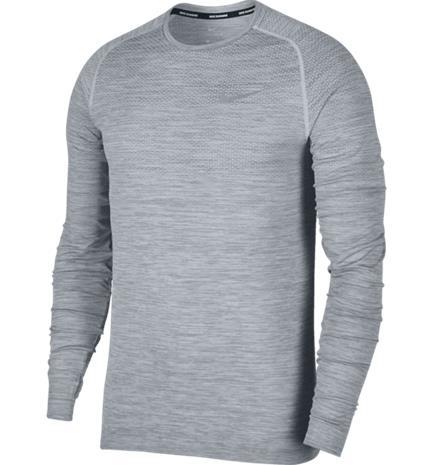 Nike M NK DF KNIT TOP LS PURE PLATINUM/COOL