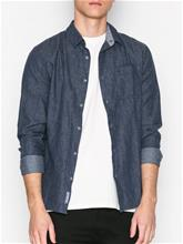 Calvin Klein Jeans Wendow Brushed Heather Shirt L/S Kauluspaidat Night Sky