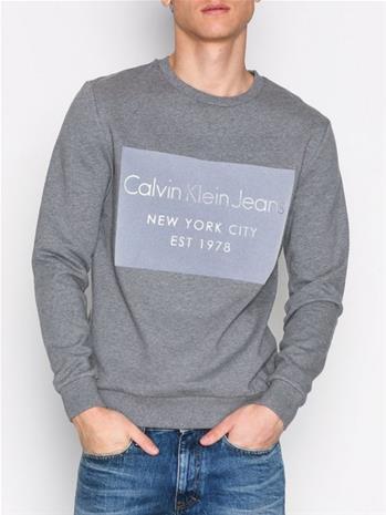 Calvin Klein Jeans Hayto 2 Cn Hknit Ls Puserot Grey