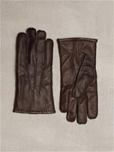 Gant O1.Classic Leather Gloves Käsineet Dark Brown