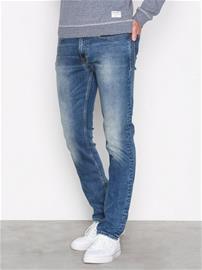 Calvin Klein Jeans Slim Straight Paprika Farkut Deniminsininen