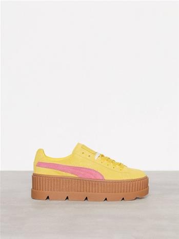 Fenty Puma By Rihanna Cleated Creepersuede WNS Low Top Keltainen