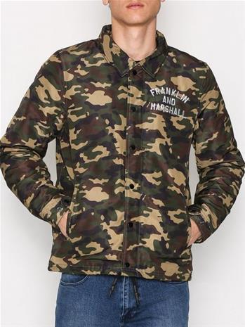 Franklin & Marshall Jacket Nylon MTY Takit Camouflage