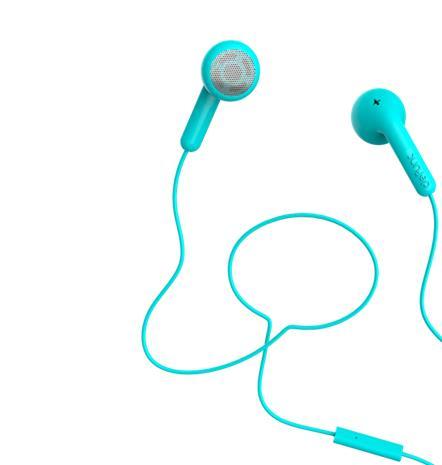 Defunc Go Talk, nappikuulokkeet mikrofonilla