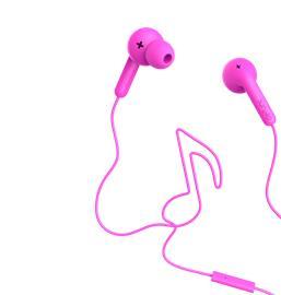 Defunc Go Music, nappikuulokkeet mikrofonilla