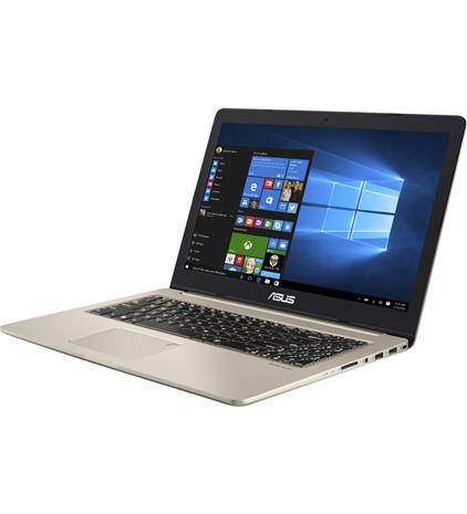 """Asus VivoBook N580VD-FZ338T (Core i5-7300HQ, 8 GB, 500 GB + 256 GB SSD, 15,6"""", Win 10), kannettava tietokone"""