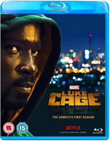 Luke Cage: Kausi 1 (Blu-Ray), TV-sarja