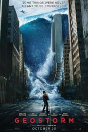 Geostorm (2017, 3D Blu-Ray), elokuva