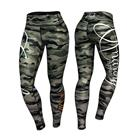 Commando Leggings, Green/Mixed
