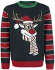 "Ugly Christmas Sweater"" ""Pooping Rudolph"