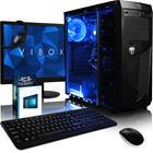 """Vibox Vision 2 (AMD A4-6300, 8 GB, 1000 GB, Win 10), kesksuyksikkö + 22"""" näyttö"""