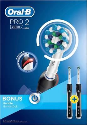 Braun Oral-B Pro 2 2900 CrossAction Duo, sähköhammasharja (2 runko-osaa)
